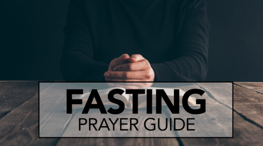 Fasting Prayer Guide